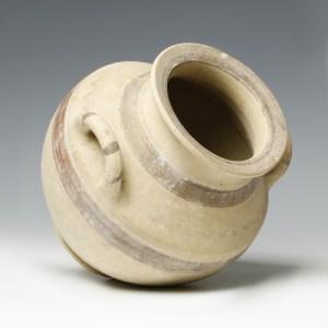 native italic amphora of pottery