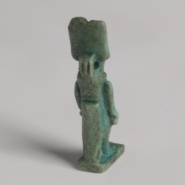 Egyptian Glazed Taweret Amulet
