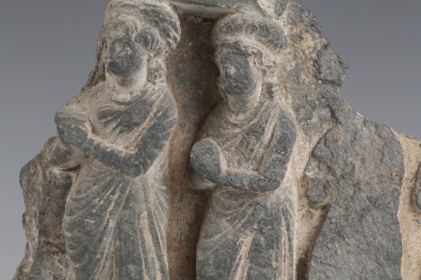 Gandhara Stone Relief Scene From the Life Of Buddha