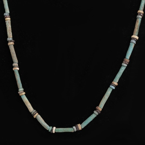 Egyptian Necklace with Colourful Beads
