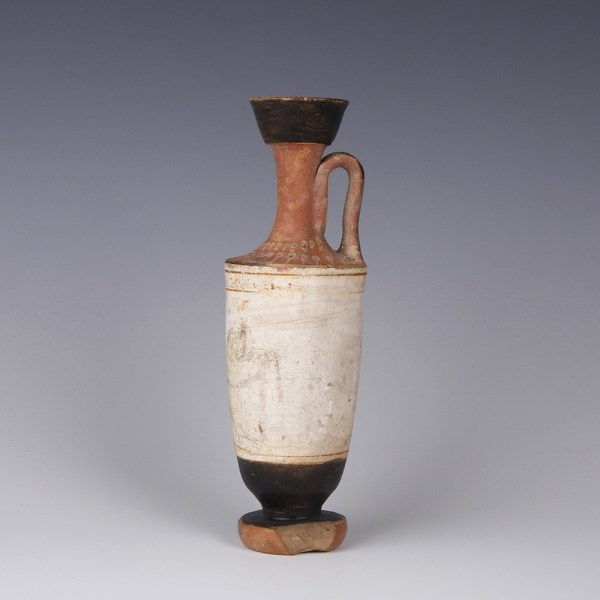 Attic White-ground Lekythos with Distinguished Provenance
