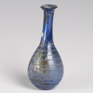 Roman Blue Glass Unguentarium