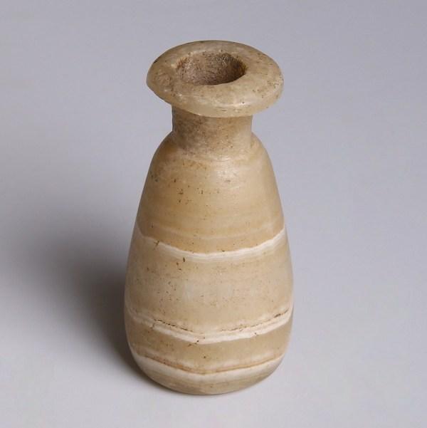 Egyptian Conical Alabaster Jar