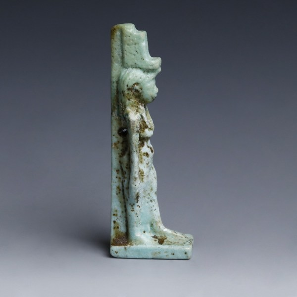 Egyptian Faience Amulet of Isis