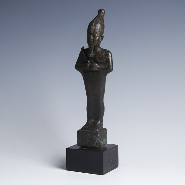 Egyptian Bronze Statue of Osiris