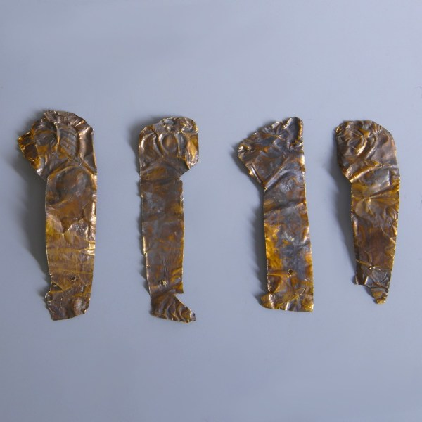 Egyptian Gold Sons of Horus Appliques