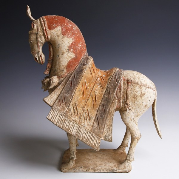 Elaborate Terracotta Northern Wei Horse
