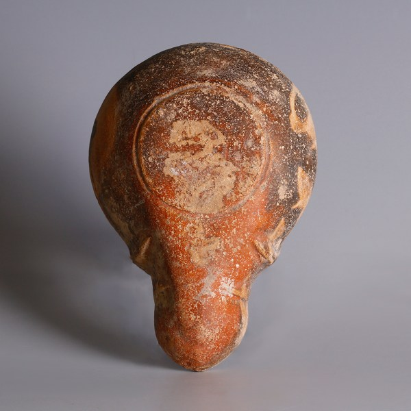 Roman Gladiator Oil Lamp