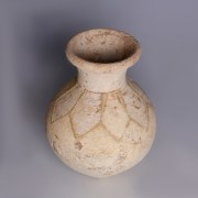 Amlash Beige Pottery Storage Jar