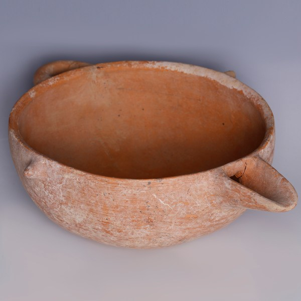 Amlash Spouted Bowl with Looped Handle