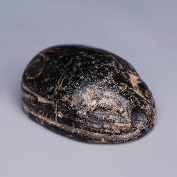 Ancient Egyptian Hardstone Hyksos Scarab