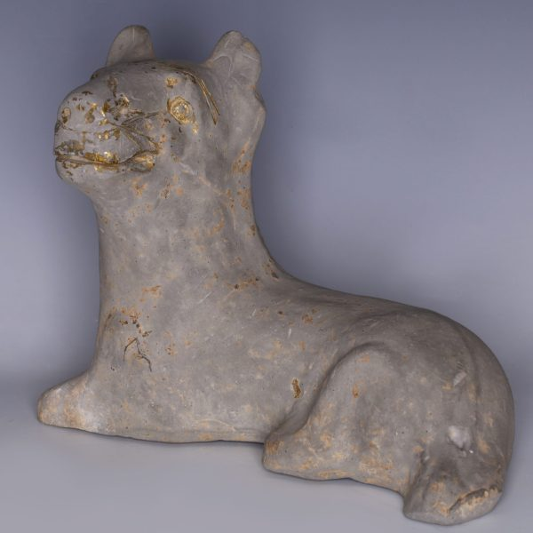 Eastern Han Dynasty Terracotta Guardian Dog Figurine