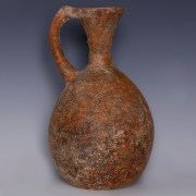 Marlik Terracotta Jug with Spindle Spout