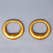 Archaic Eastern Greek Pennanular Earrings