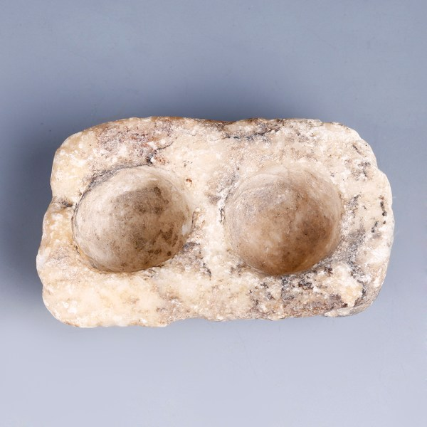 Early Dynastic Alabaster Cosmetic Container