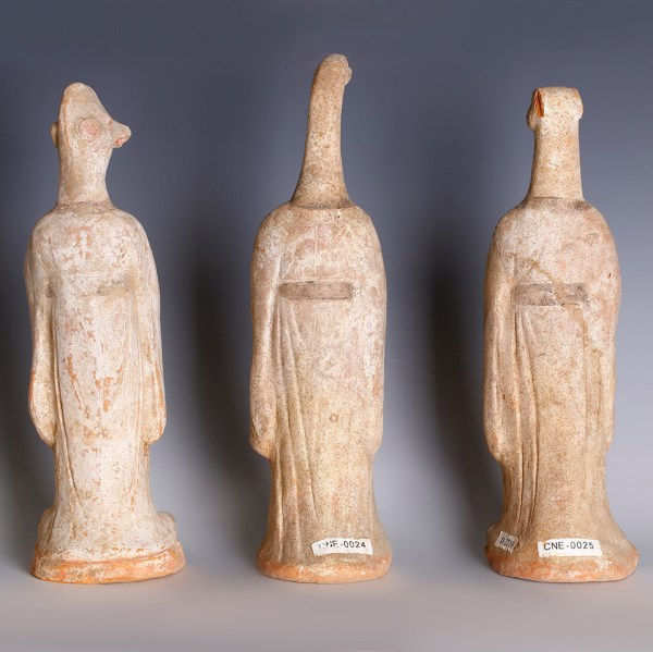 Chinese Tang Dynasty Terracotta Zodiac Figurines