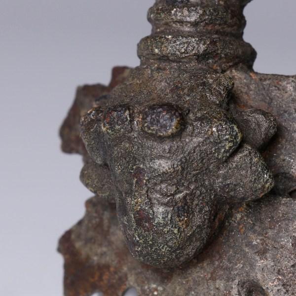 Roman Bronze Pendant with Bacchus