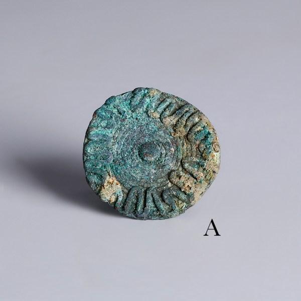 bactrian bronze ring