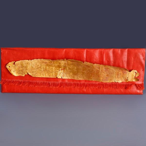 Fine Greek Gold Funerary Diadem