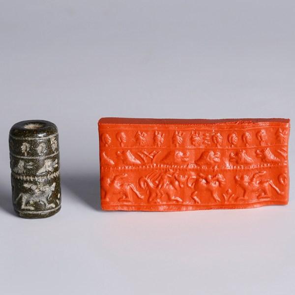 Neo-Babylonian Cylinder Seal