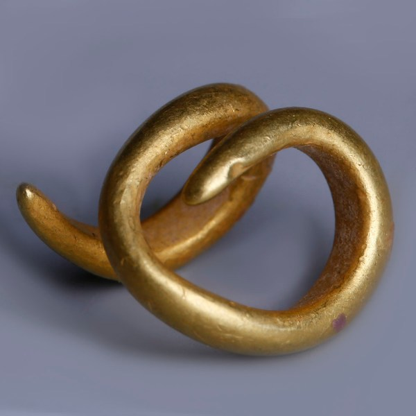 European Bronze Age Coiled Single Ring