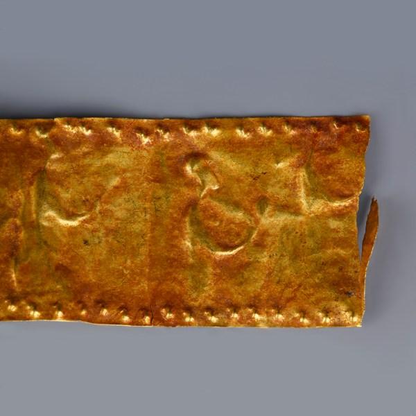 Fragment of a Greek Funerary Diadem