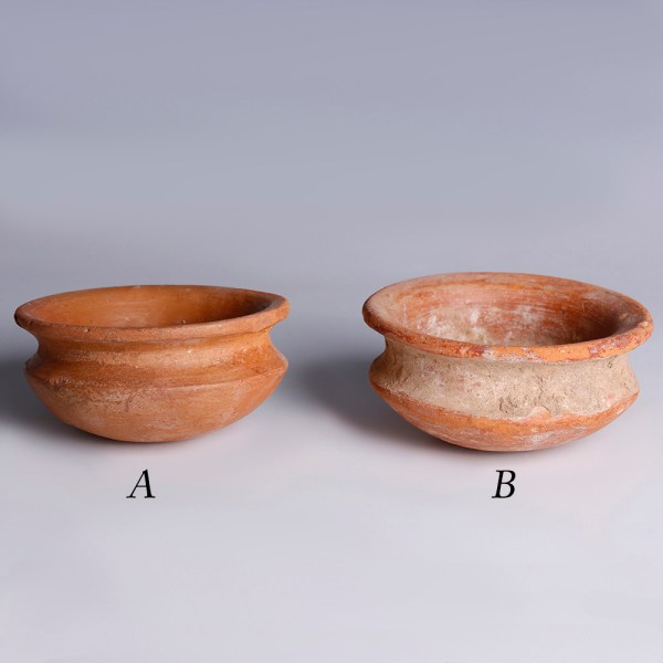 Selection of Neo-Assyrian Terracotta Bowls