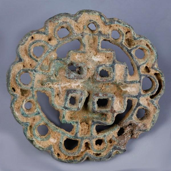 Elaborate Bactrian Bronze Seal Stamp