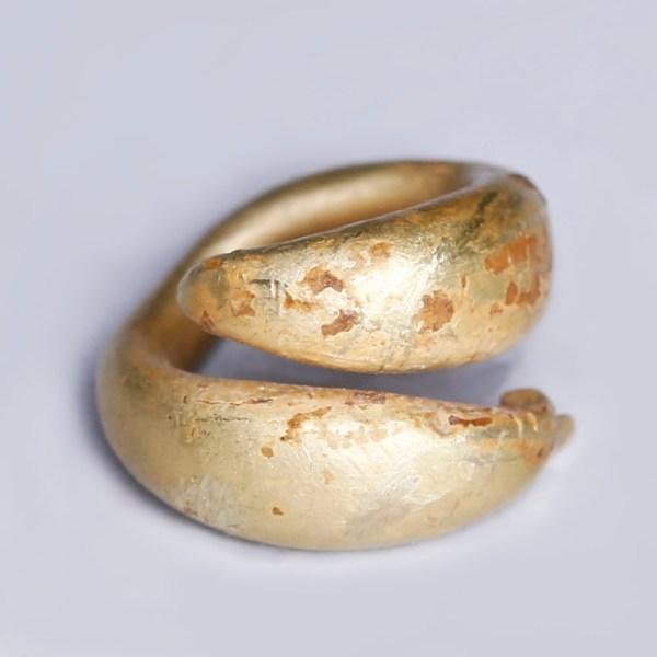 European Bronze Age Electrum Coil