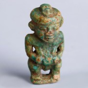 Egyptian Ptaichos Faience Amulet