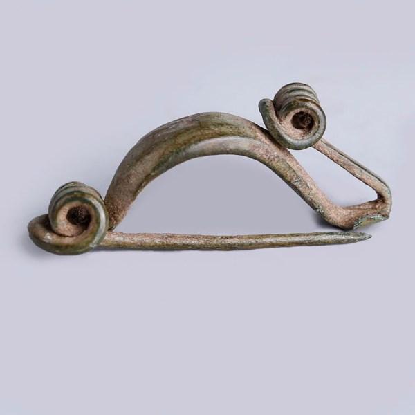 Celtic La Tene Period Bronze Bow Fibula