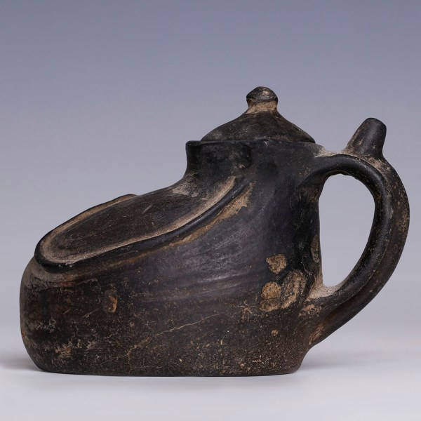Chinese Black Pot from the Longshan Culture