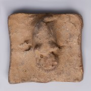 Han Dynasty Pottery Pig Seal Stamp