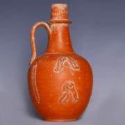 Exceptional African Red Slipware Jug