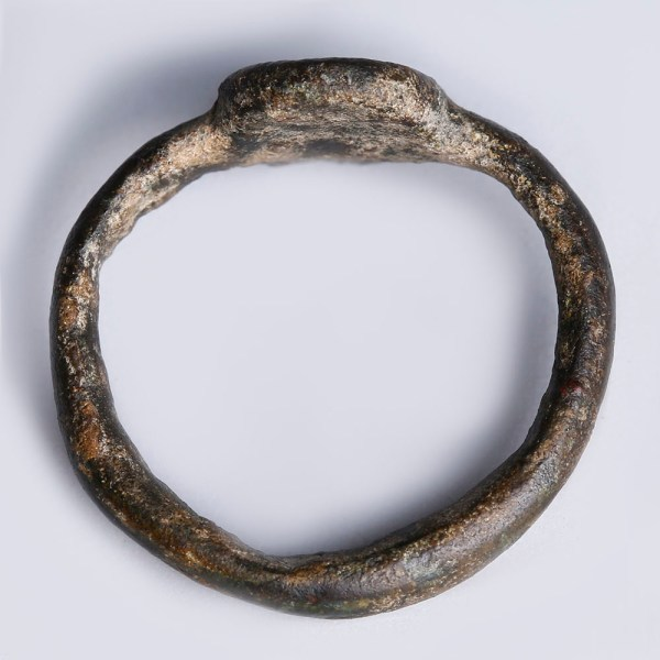 Roman Bronze Signet Ring