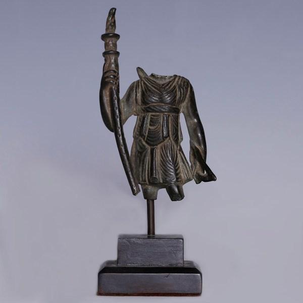 Roman Bronze Statue of the Goddess Diana Lucifera