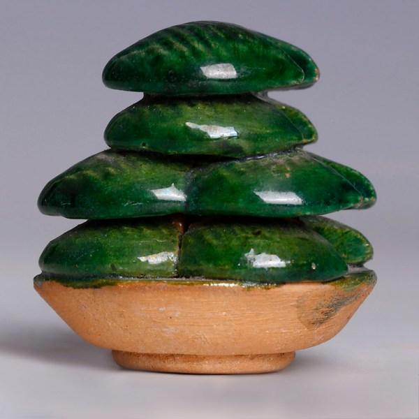 Glazed Ming Dynasty Offering Dish