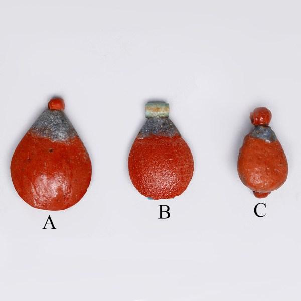 Selection of Faience Mandrake Amulets