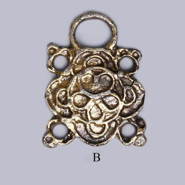 Selection of Silver Tudor Clothing Eye Fasteners