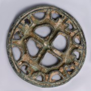 Bactrian Bronze Seal Stamp with Cross Motif