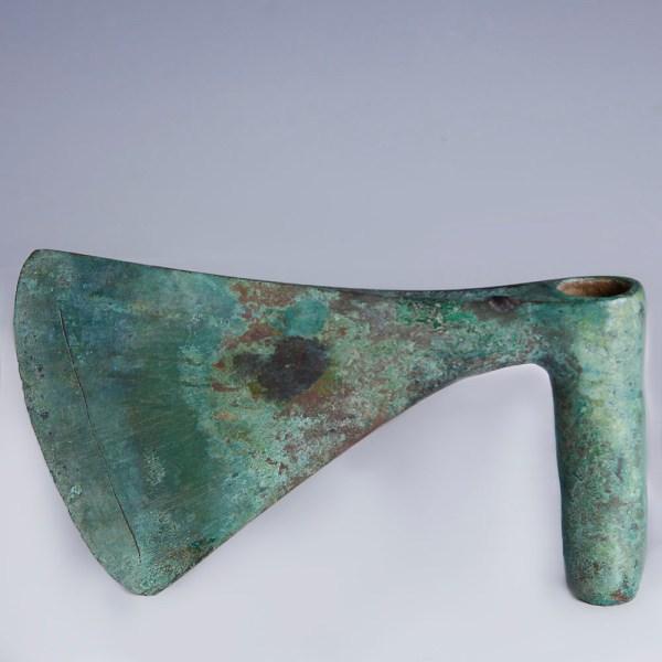 Luristan Large Bronze War Axe Head