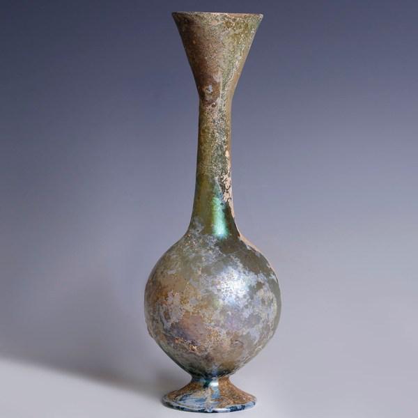 Superb Roman Glass Bottle
