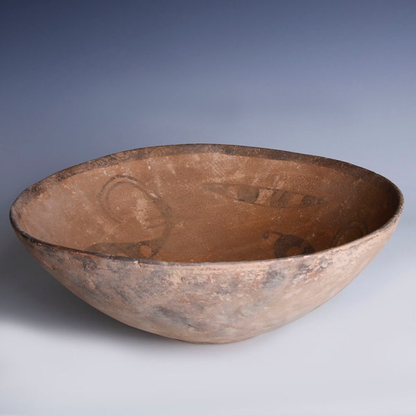 Indus Valley Terracotta Bowl with Ibexes