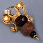 Greek Gold Amphora-Shaped Pendant