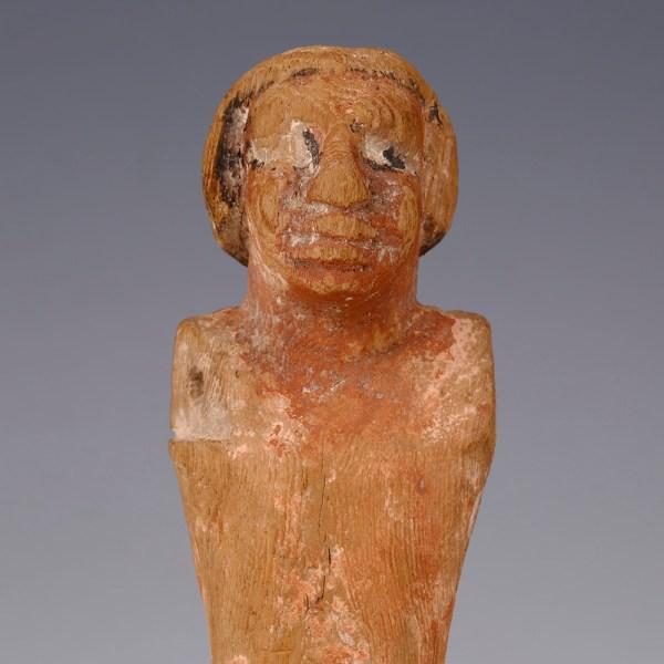 Egyptian Wooden Servant Figurine