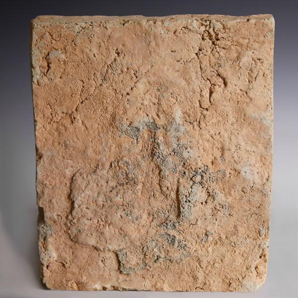 Song Dynasty Terracotta Figural Brick