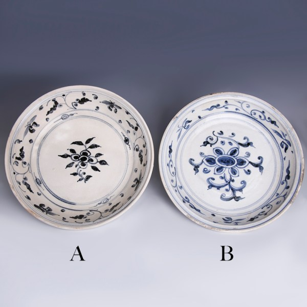 Selection of Hoi An Blue and White Serving Dishes