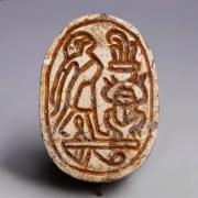 Egyptian Steatite Hyksos Period Scarab