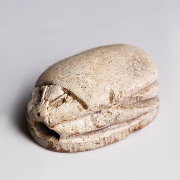 Egyptian Steatite Scarab to Hyksos Prince