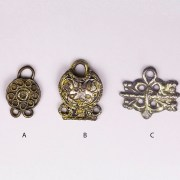 Selection of Tudor Period Clothes Fasteners